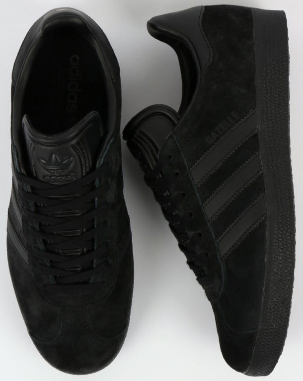 on sale 94f95 9afdf Adidas Gazelle Trainers Black,originals,shoes,mens,sneakers