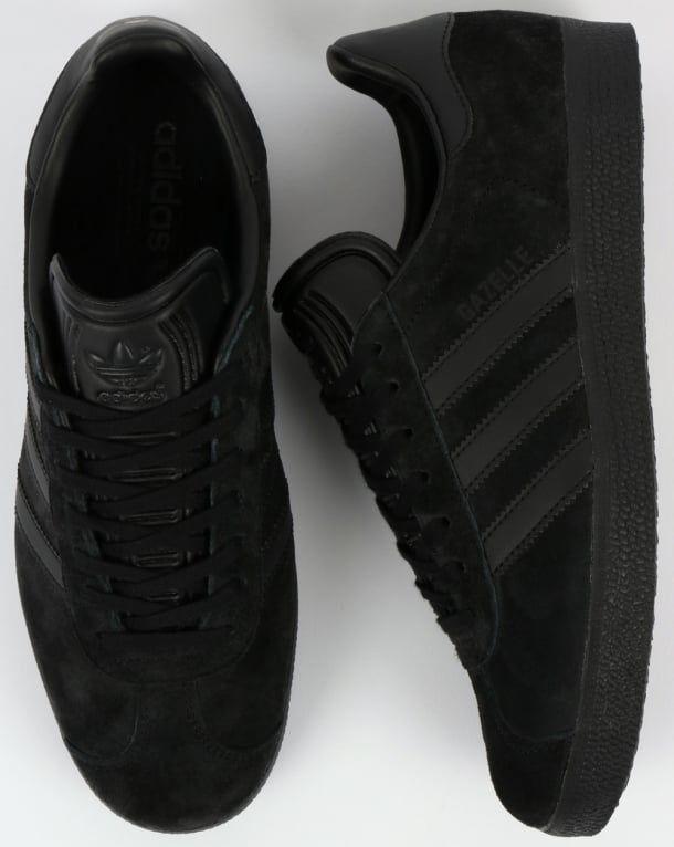 adidas gazzella formatori nero, scarpe originali, scarpe, mens, scarpe nero, da ginnastica fbfd4a