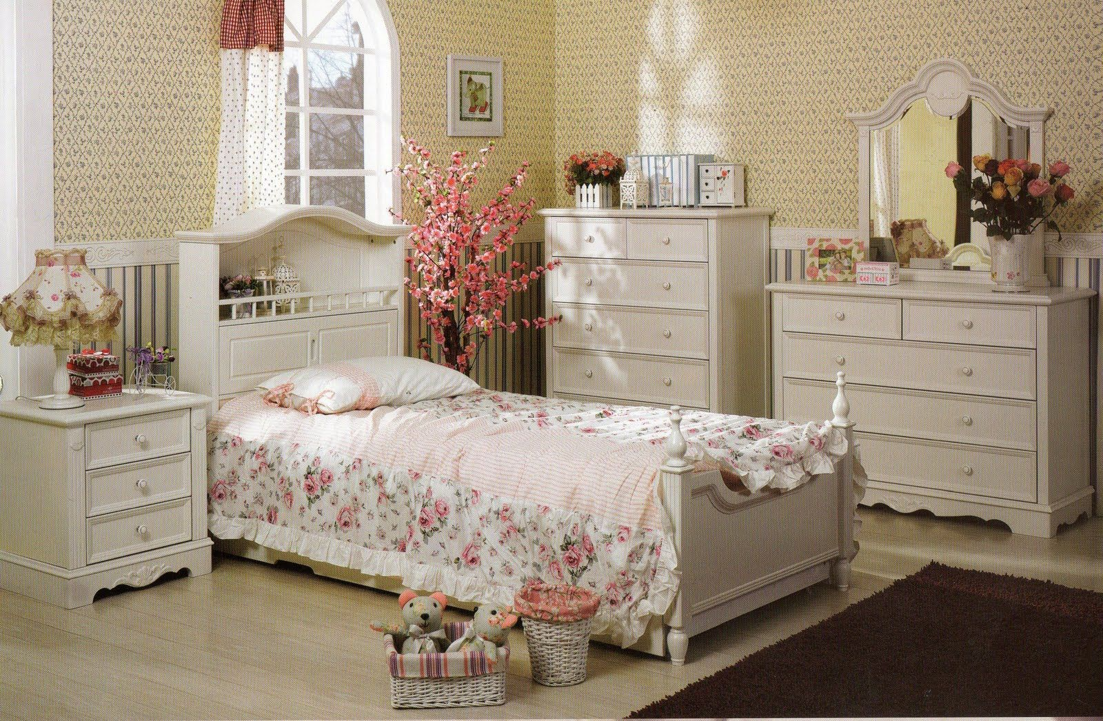 French Style Bedroom Pianist Range Copyright