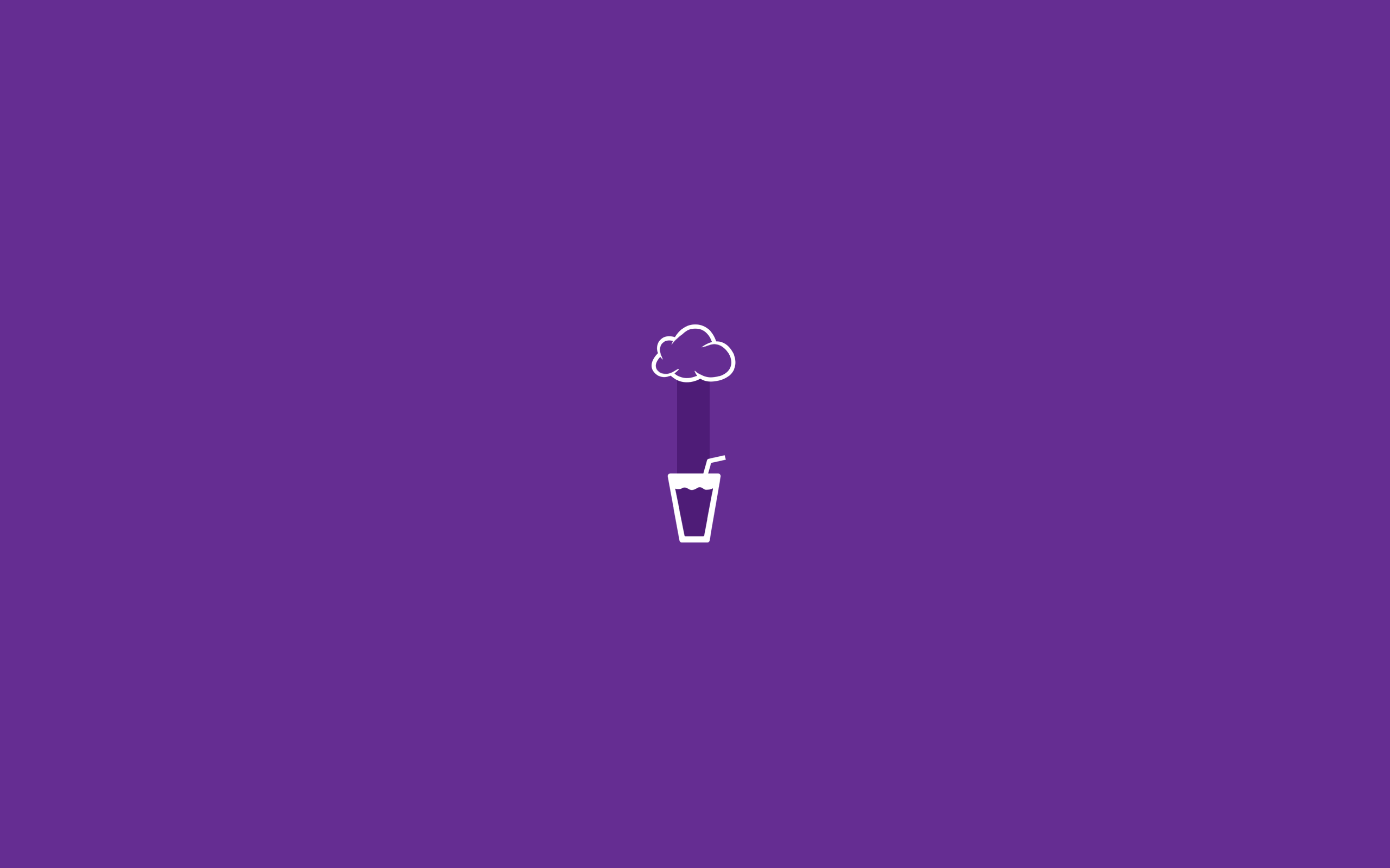 Purple Minimalist Aesthetic Laptop Wallpaper