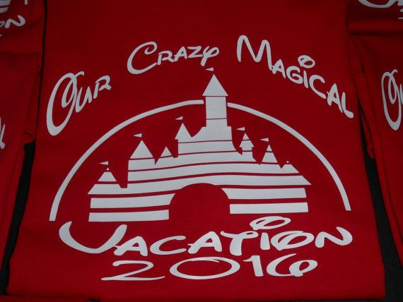 our crazy magical vacation disneycutecreativescreatio on etsy