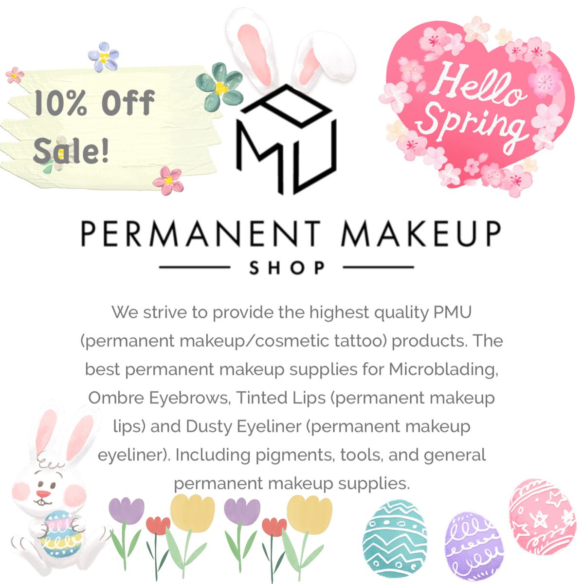 Spring Sale! in 2020 Permanent makeup cosmetics