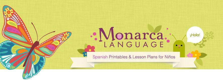 Mommy Maestra: Spanish Preschool Curriculum Review: Monarca Language & {PRINTABLE}