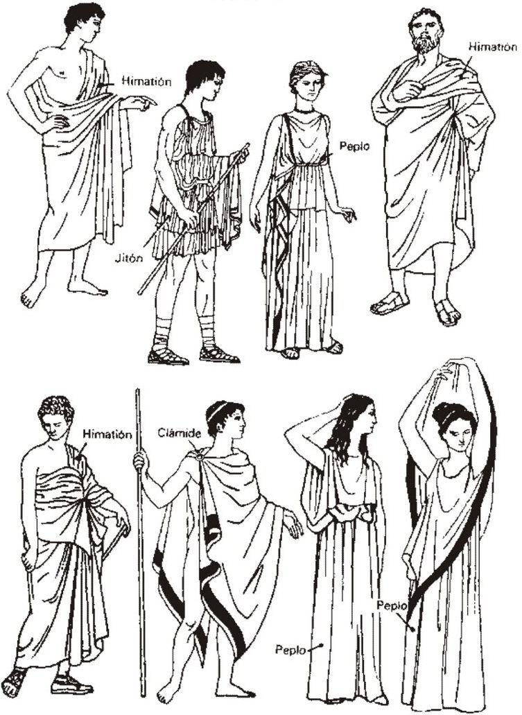 Одежда Древней Греции и мода, ей вдохновленная | Grecia, Historia y ...