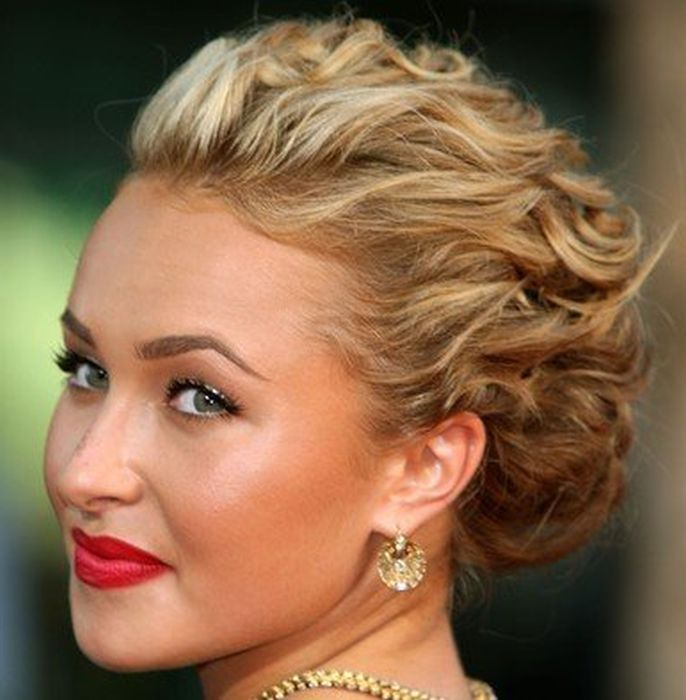 Pleasing 1000 Images About Updos On Pinterest Headband Updo Medium Short Hairstyles Gunalazisus