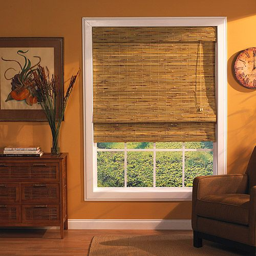 Bamboo Window Roman Shade Kona Natural A Lot Like Our Existing