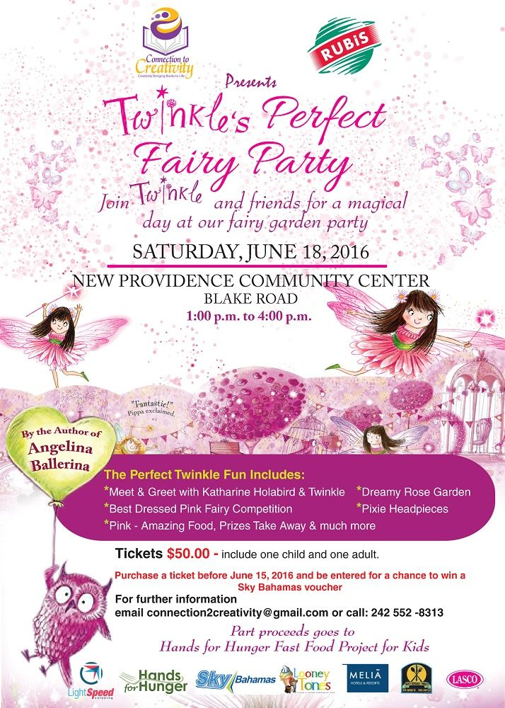 Twinkle's Perfect Fairy Party - June 18, 2016