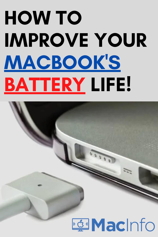 How To Improve Your MacBook's Battery Life Apple MacBook