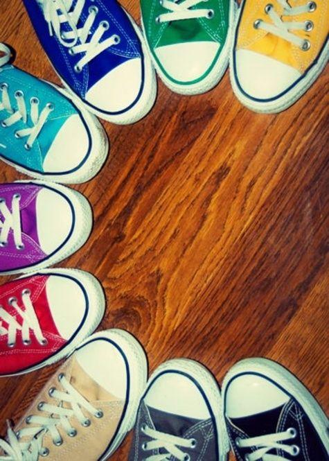 07dad4ba7c3d Resultado de imagem para converse shoes different colors