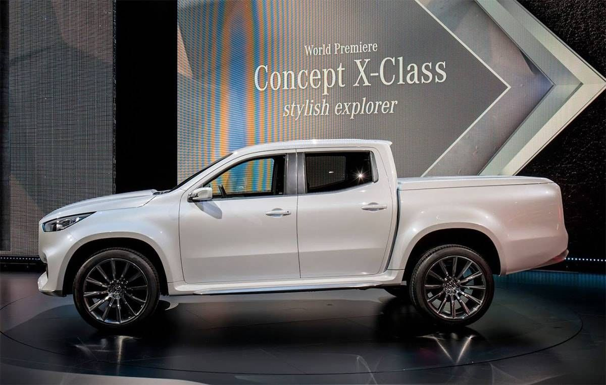 Novo Mercedes Benz X Class Do Recolhimento 2019 2020 Os