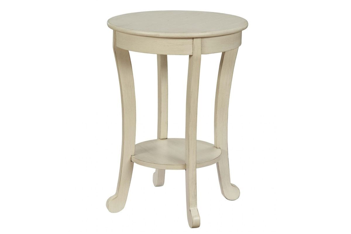 Alysa Iii End Table In Antique White By Acme End Tables Table