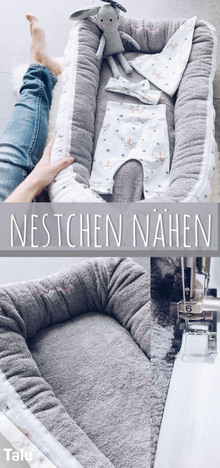 Photo of Ein Nest nähen – Kostenlose Anleitung für ein Babynest