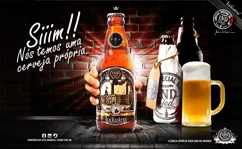 @IndustriaHED, @ItsDigital e @haveanicebeer fortalecem sua marca lançando cervejas personalizadas |