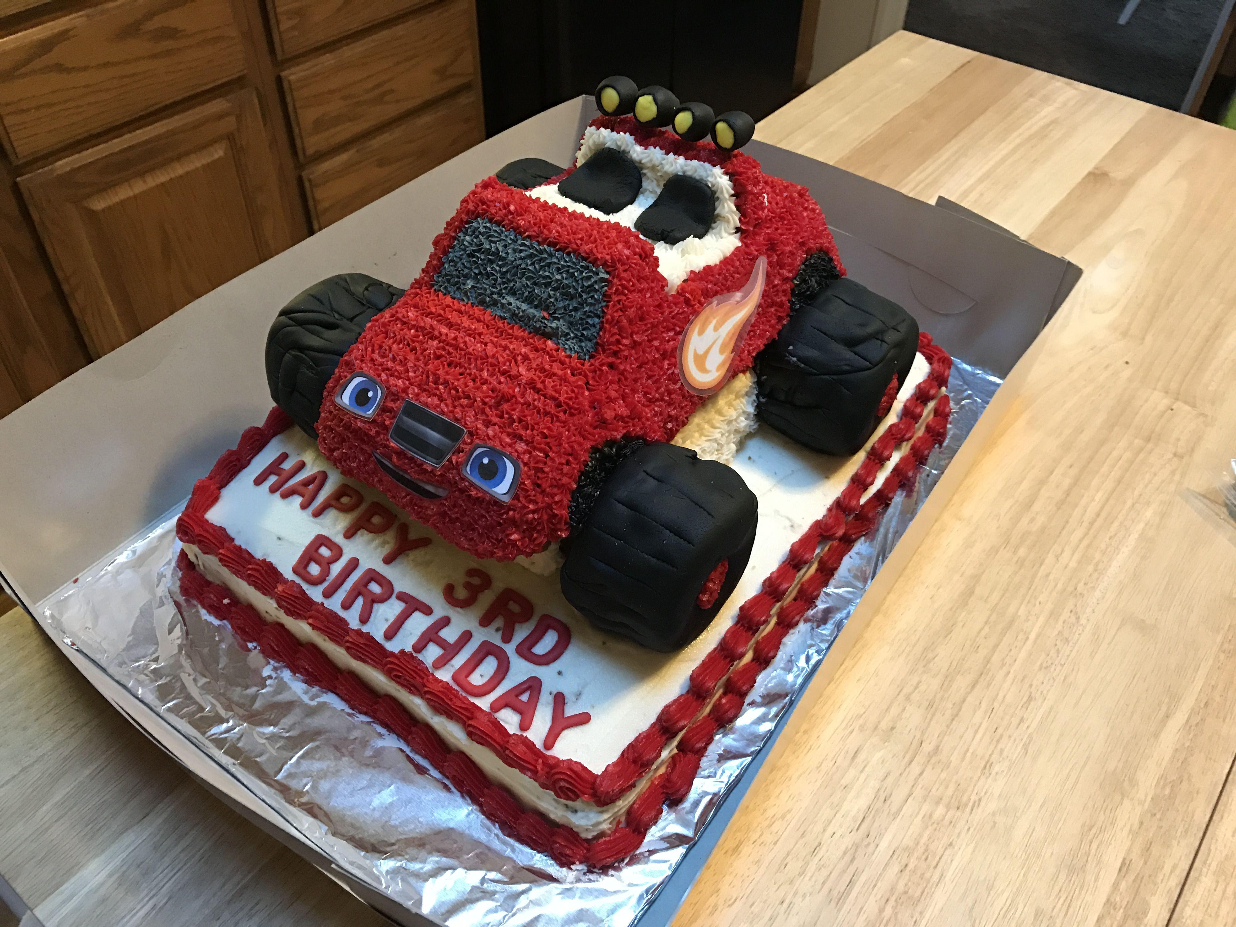 blaze and the monster machine cupcake cake cook u0027s creations