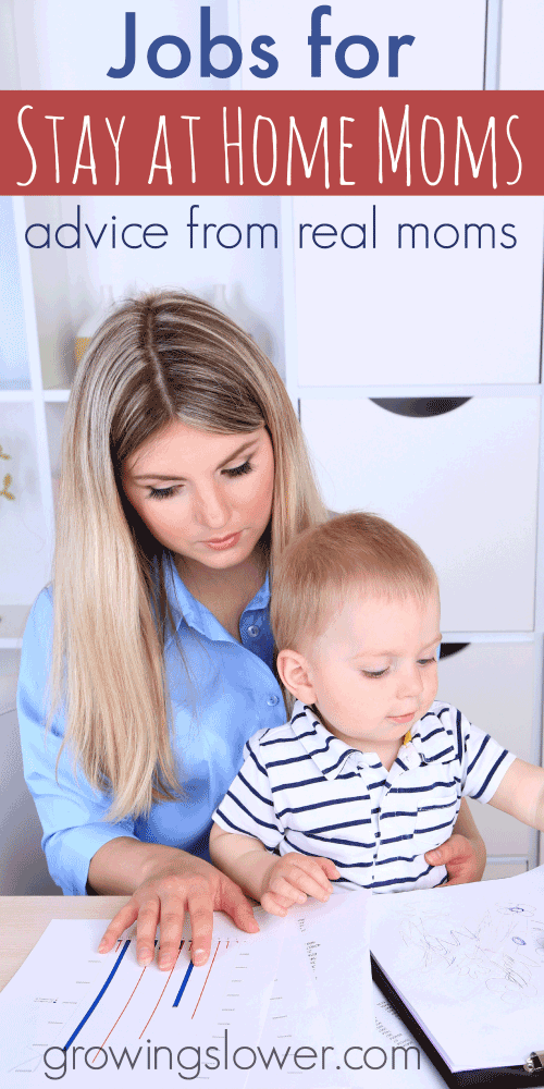 60 Real Jobs For Stay At Home Moms Stay At Home Mom Work