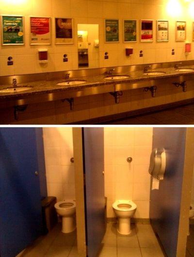 Dublin International Airport, Terminal 2. | Bathroom ...