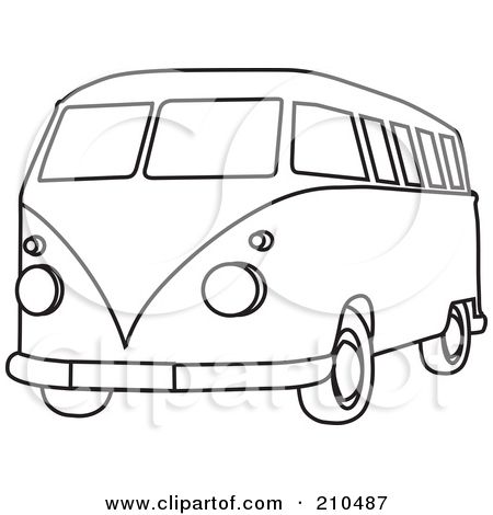 hippie coloring pages - Google Search | vw buses | Pinterest ...