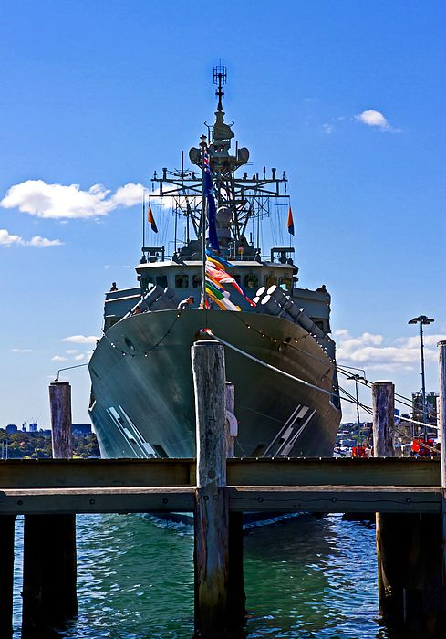 Hmas Parramatta Ffh 154 By Miroslava Jurcik Tall Ships Warship Fleet