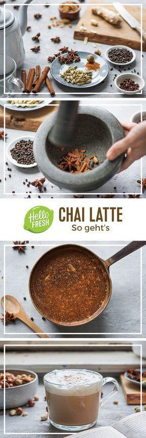 So Konnt Ihr Chai Latte Selber Machen Hellofresh Blog Rezept Chai Tee Rezept Chai Lecker