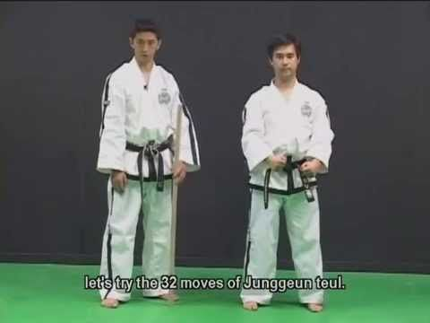 Taekwon do ITF TUL   1 - YouTube