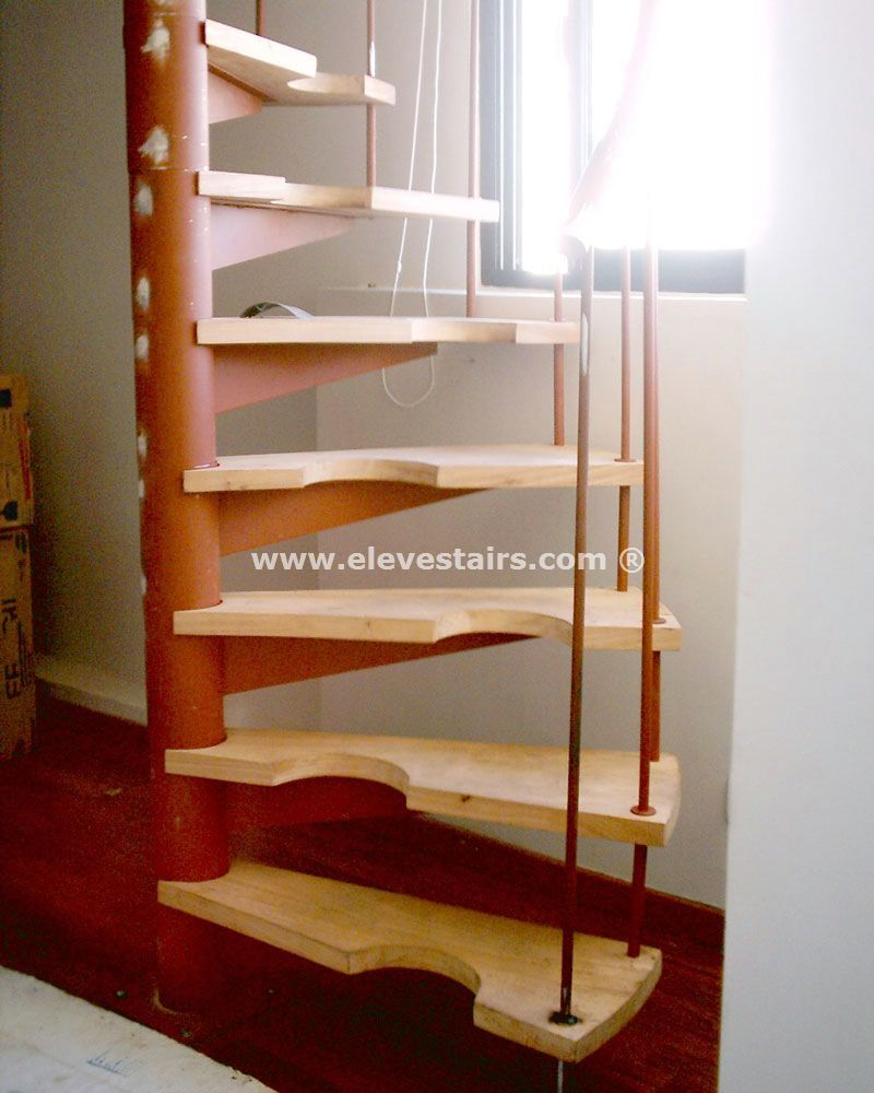 18 Loft Staircase Designs Ideas: Wooden Spiral Staircase - Google Search