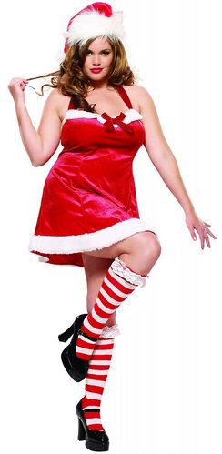 7bc945e7348 Sexy Santas Helper Plus Size Christmas Costume