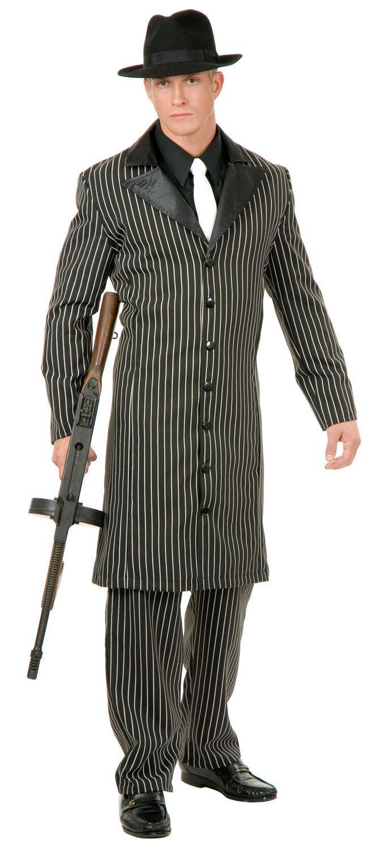 mens gangster suit adult costume 20s gatsby flapper. Black Bedroom Furniture Sets. Home Design Ideas