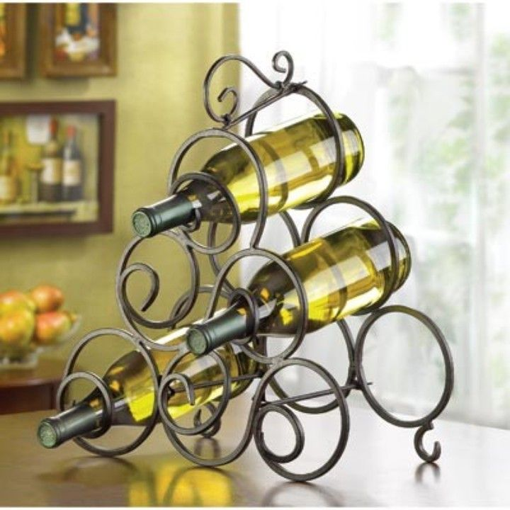 32405 Scrollwork Wine Rack from A Brown Enterprises for $19.95 on Square Market