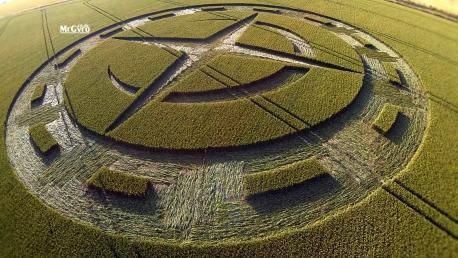 Video Aerial View Of Stunning Crop Circle Near Stonehenge Crop Circles Real Crop Circles Stonehenge