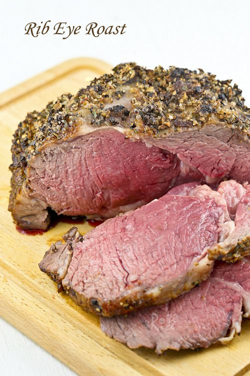 Rib Eye Roast Recipe With Images Ribeye Roast Roast Roast Recipes