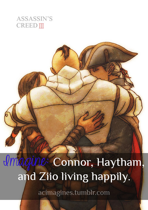 "Connor And Haytham Fanfiction ""Imagine: Connor, Ha..."