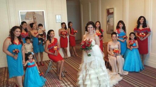 Teresa Hagape Atelier: Salsa-inspired Wedding