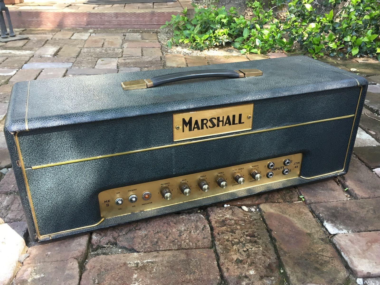 Marshall 1965 Jtm 45 Block Logo Guitar Amps For Sale Guitar Amp Marshall