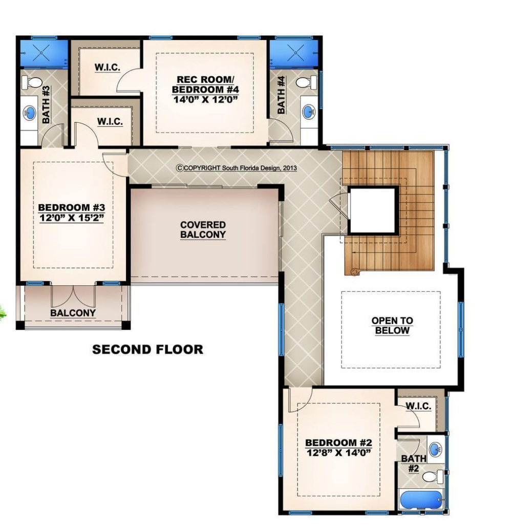 Hpm Home Plans Home Plan 009 4417 Courtyard House Plans House Plans Pool House Plans