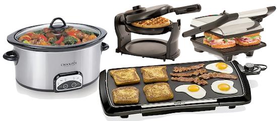 Kohl's: FREE Small Kitchen appliances – CrockPot, Griddle, Panini ...