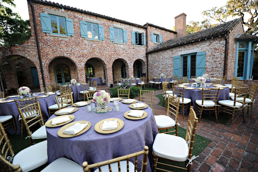 Casa Feliz Winter Park Fl Central Florida Wedding Indoor Outdoor Garden Vintage Spanish Wood Brick Venues Pinterest