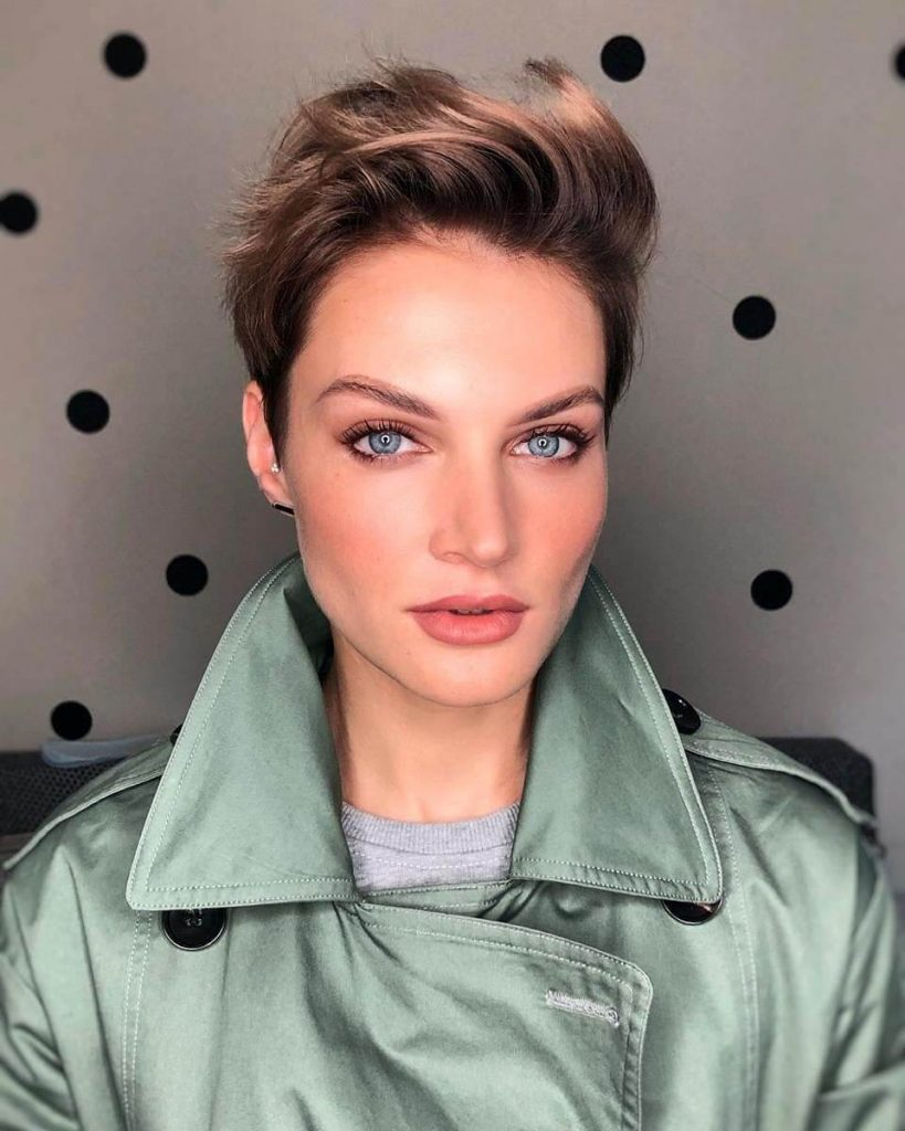 50 fashionable short hairstyles for square faces  cheeky