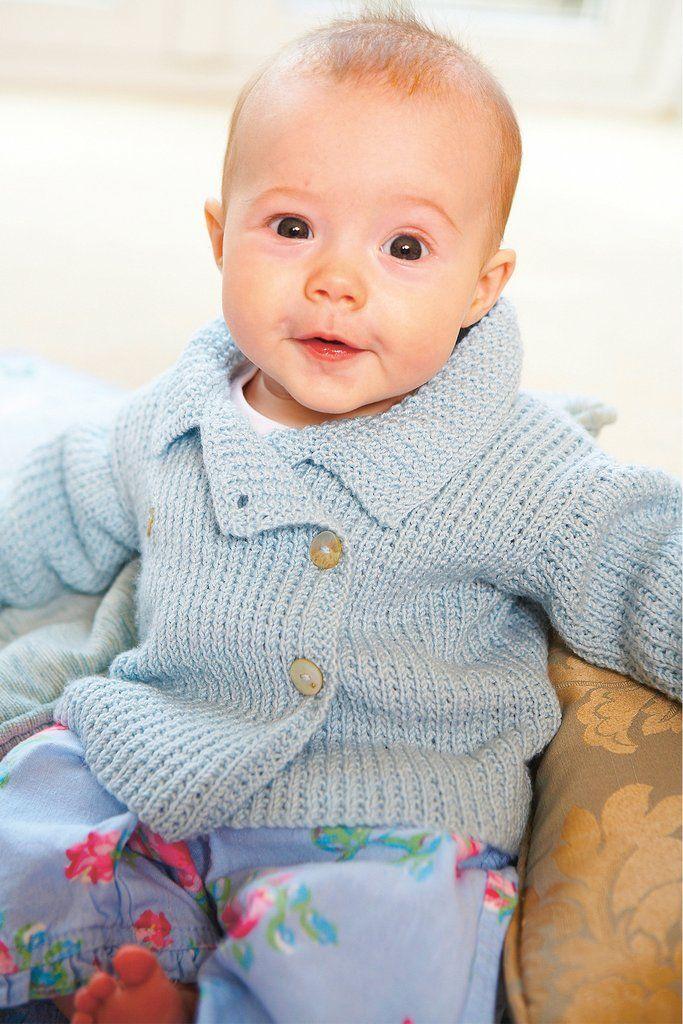 Baby Jacket Vintage Knitting Pattern Baby Knitting Patterns