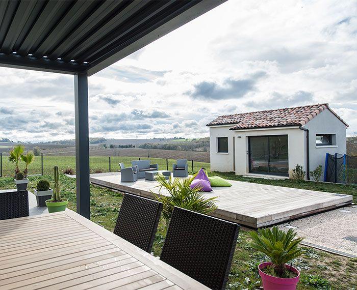 terrasse-piscine #Terrasse #mobile #TerrasseMobile   Pistoche ...