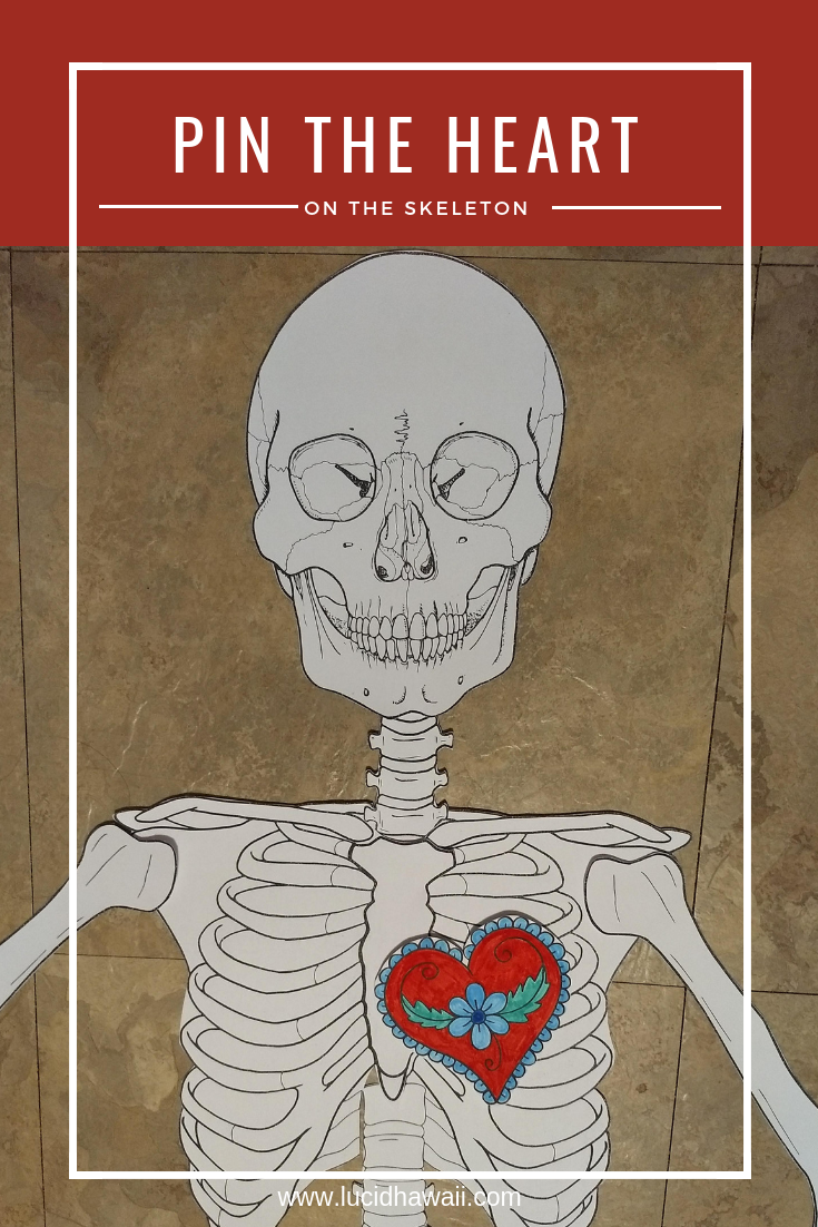 Life Size Printable Skeleton for Anatomy Lesson or Halloween Games ...