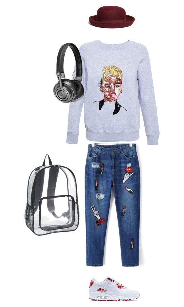 """Untitled #109"" by is-tanja-ti on Polyvore featuring Ashish, Master & Dynamic, NIKE and Brooks Brothers"