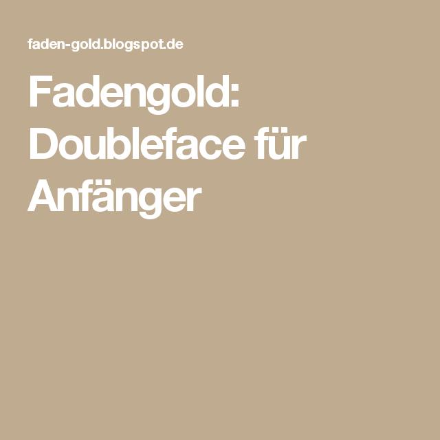Photo of Fadengold: Doppelgesicht für Anfänger