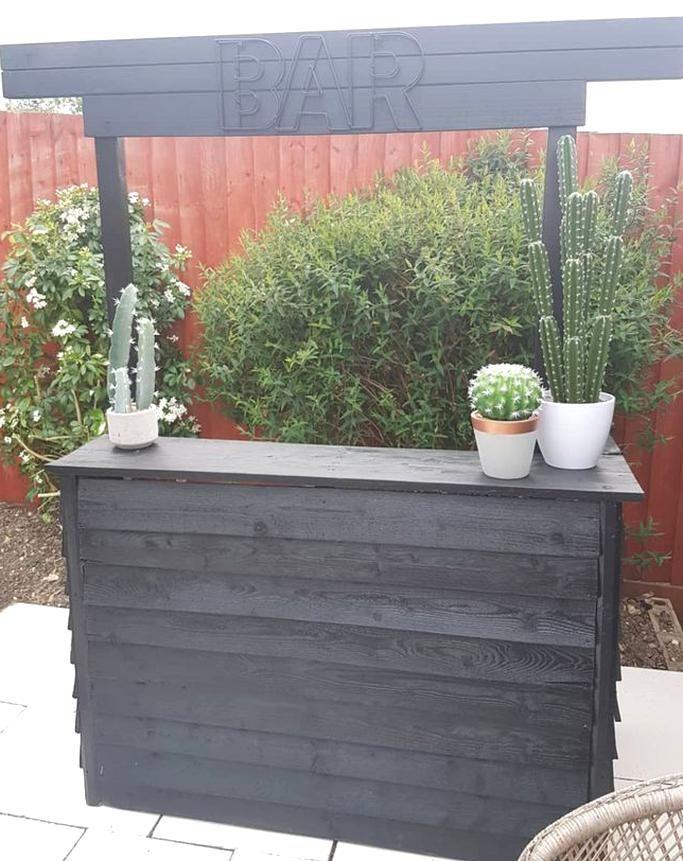 Backyard Diy Garden Bar Ideas