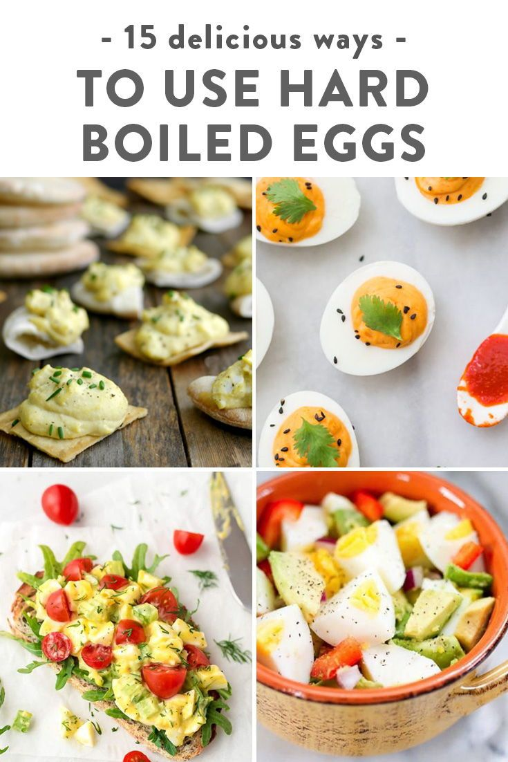 15 Things To Do With Hard Boiled Eggs