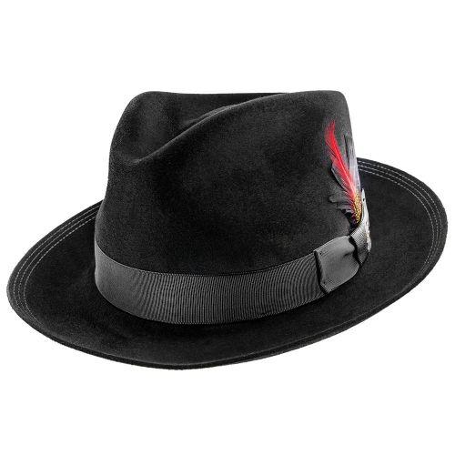 Benchmark 150th - Stetson Beaver Fur Felt Fedora Hat - TFBNCMG in ... ecbed9f3de9