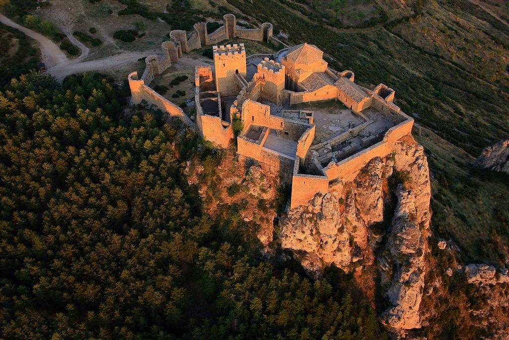 Castillo de Loarre Spain Huesca Aragon | Flickr - Photo
