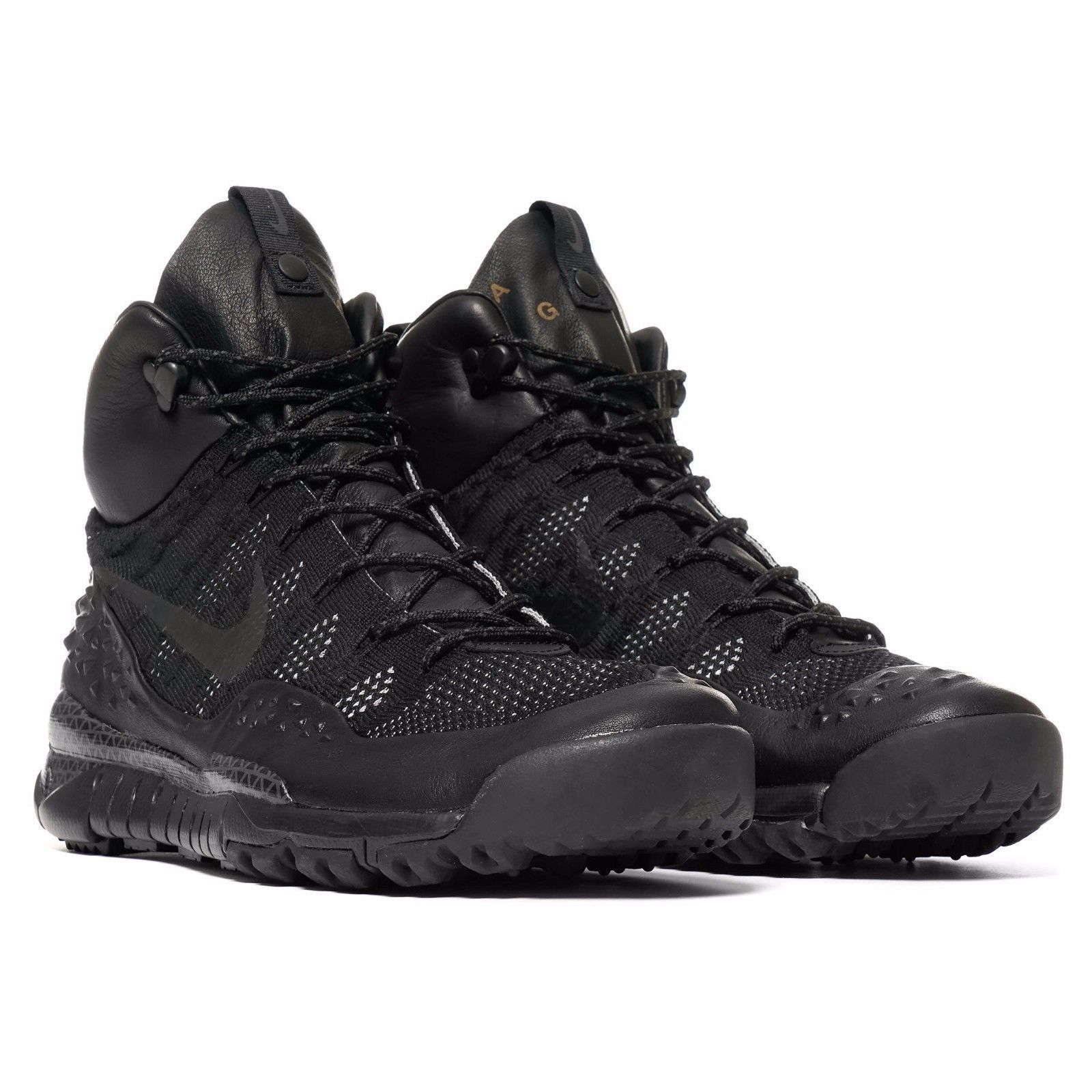 Brand New Mens Nike Lupinek Flyknit ACG 826077-001 Black/Anthracite Szs  10.5-