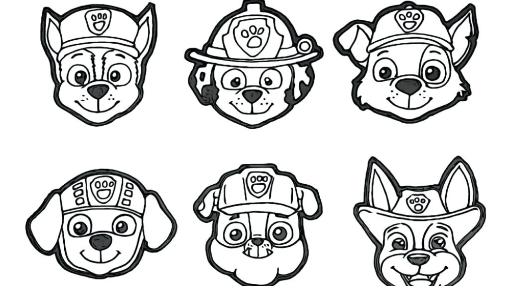 Rubble Coloring Page Paw Patrol Chase Pages To Print And Rocky Free Printable Paw Patrol Coloring Pages Paw Patrol Coloring Disney Coloring Sheets