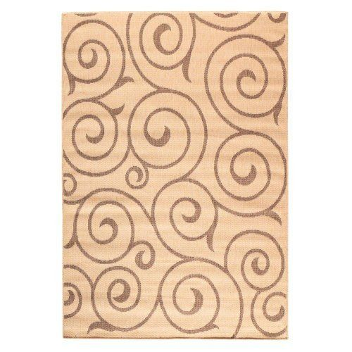 """Whirl All weather Outdoor Area Rug, 5'3""""x7'6"""", COCOA NATURAL by Home Decorators Collection, http://www.amazon.com/dp/B005630VSM/ref=cm_sw_r_pi_dp_sQE0rb0KK6DR2"""
