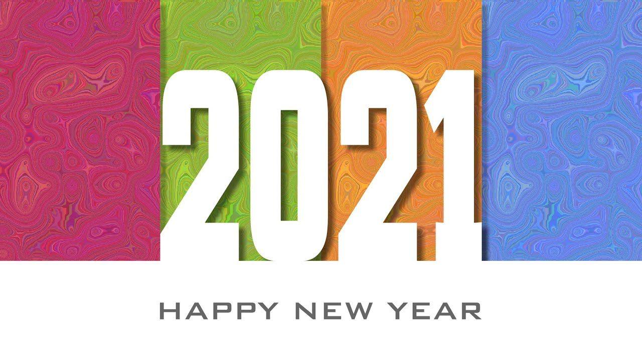 Corel DRAW tutorials New year 2021 3D Text Effect